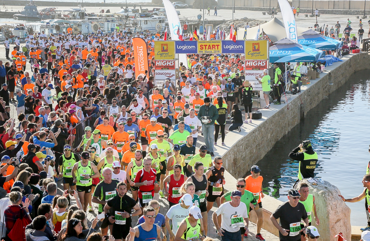 "Cyprus Marathon: ""150 DAYS TO GO - See You in Pafos"""